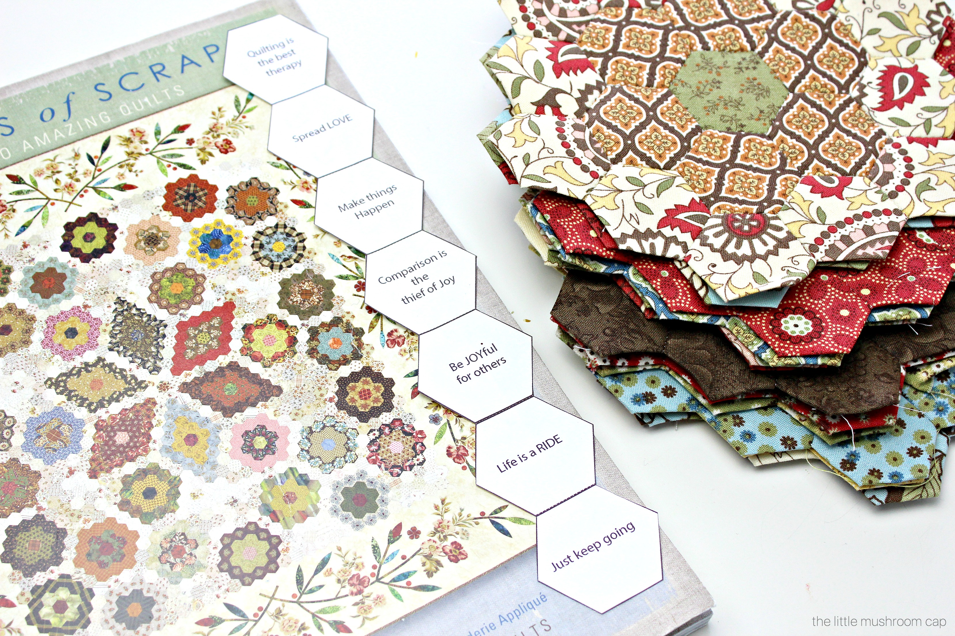 Free Printable Hexagon English Paper Piecing Template The