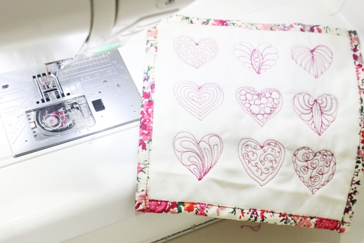 Fmq hearts _ 9 ways to free motion quilt hearts_ free template on the blog