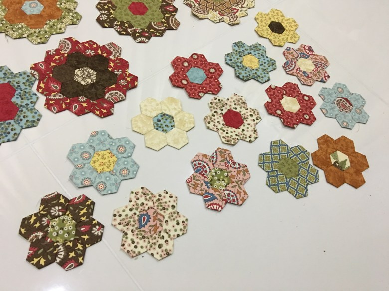 W.I.P: Grandmother's Flower Garden, DWR