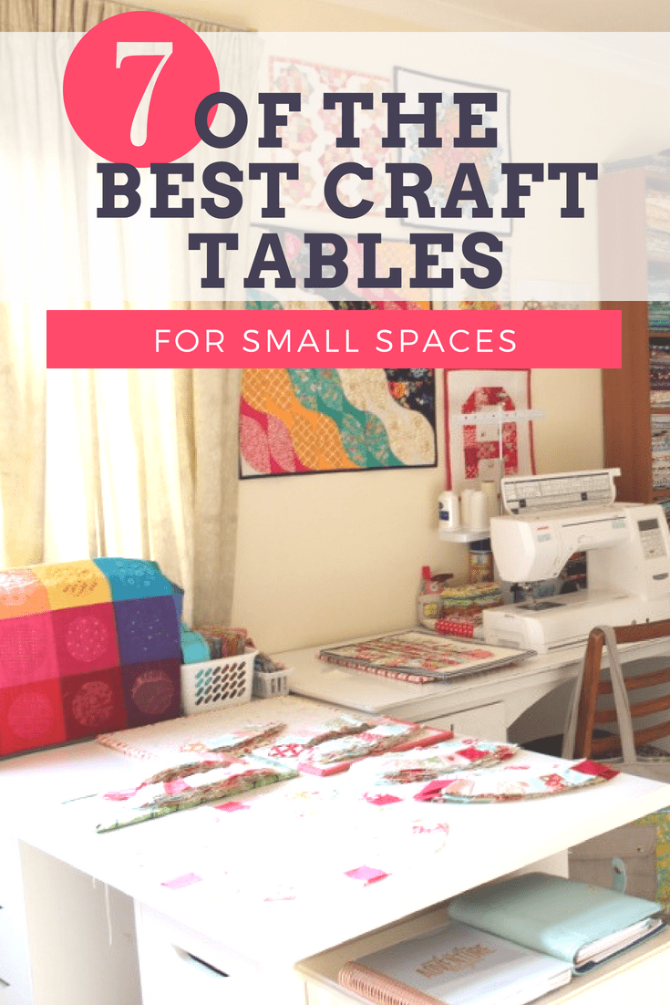 Of The Best Sewing Table For Small Spaces.
