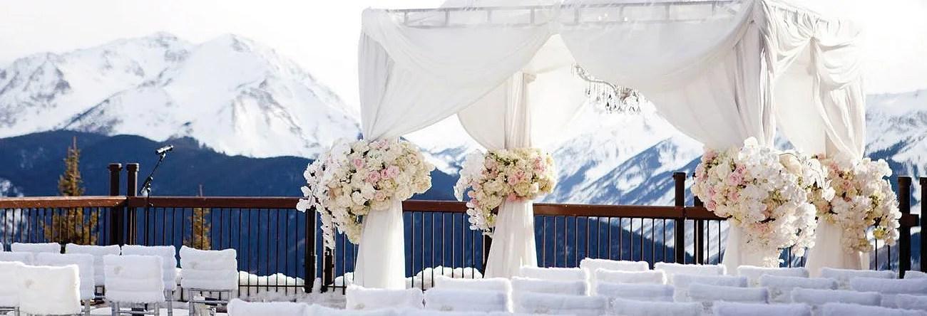 Winter Weddings  The Little Nell
