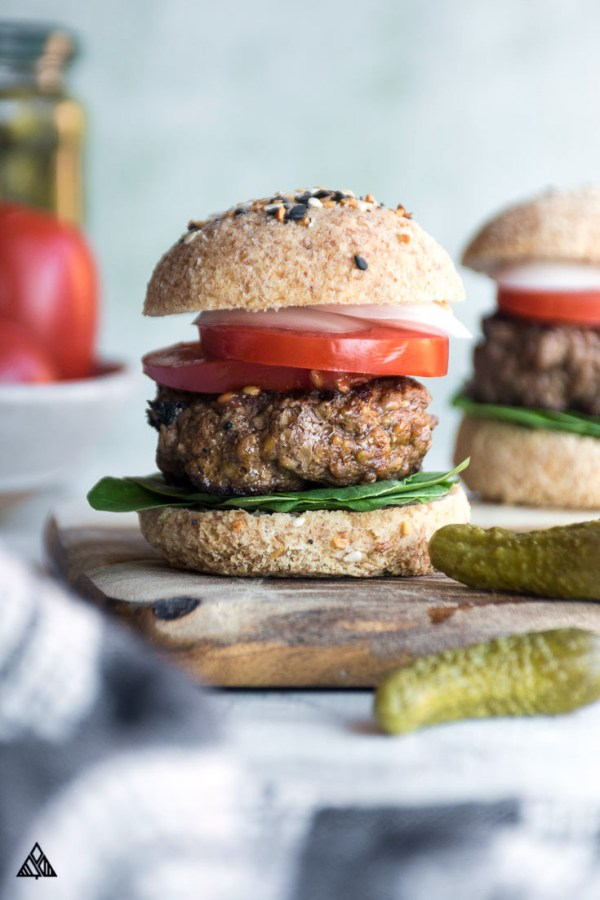 The BEST Low Carb Hamburger Buns Dairy Free Delcious!