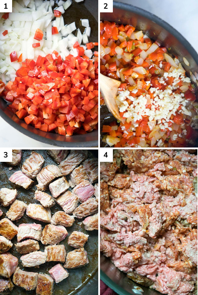 3 meat paleo chili