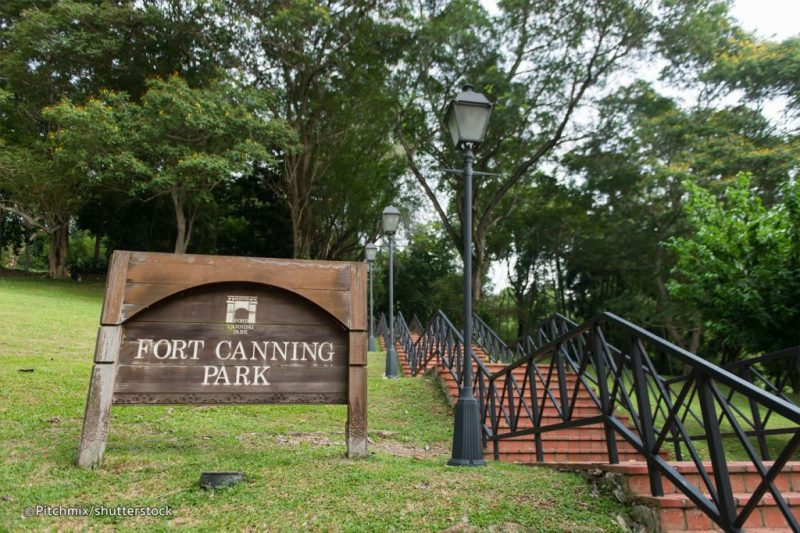 Fort Canning Hill, Singapore