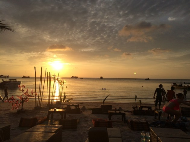 SUNSET AT KOH TAO