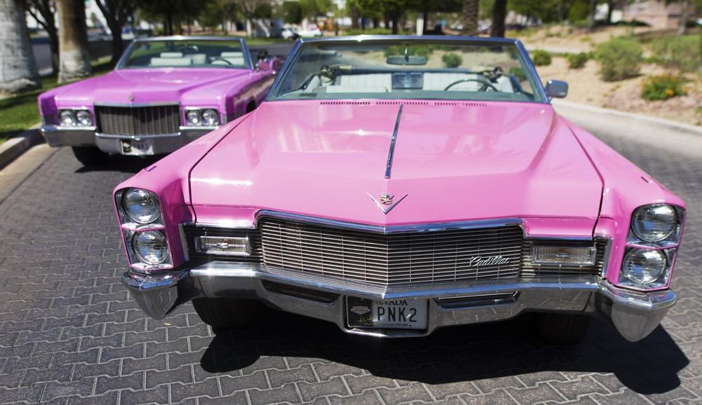 Pink Cadillacs for Elvis Weddings