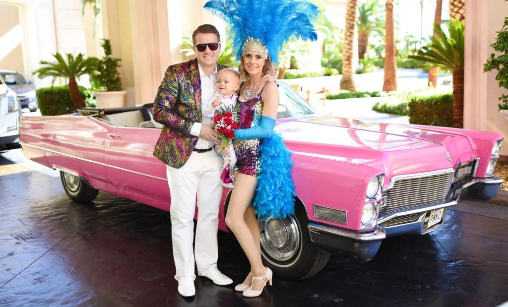 Pink Cadillac Las Vegas Wedding