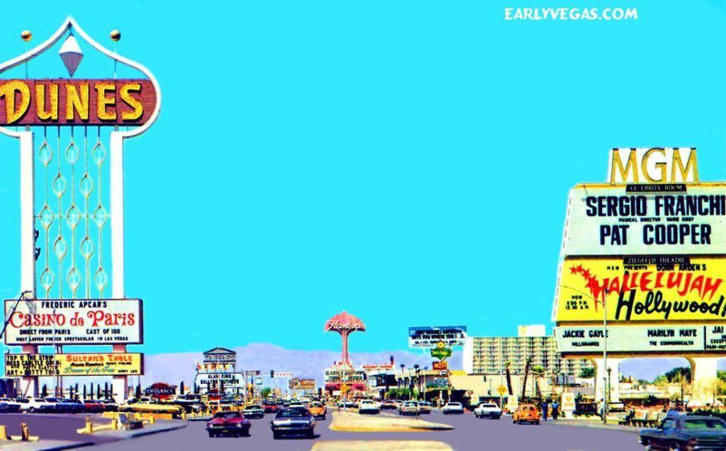 Up Dunes Strip Las Vegas