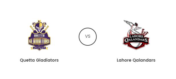 Quetta Gladiators Vs Lahore Qalandars Live T20 23rd Feb 2019 Prediction