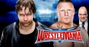 WM 32 Dean Ambrose Vs Brock Lesnar 3rd April Fight Repeat Telecast On Tensports