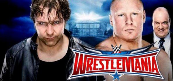WM 32 Dean Ambrose Vs Brock Lesnar 3rd April Fight Repeat Telecast On Tensports