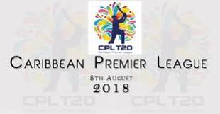 Caribbean Premier League CPL T20 Points Table 2018