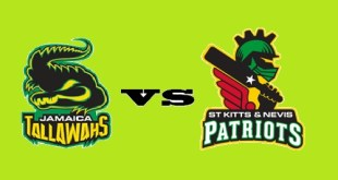 Jamaica Tallawahs Vs St. Kitts Nevis Patriots Live CPL T20 2018 India Time Results