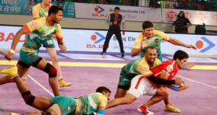 Pro Kabaddi Season 4 Today's Match Live Score Results 2016