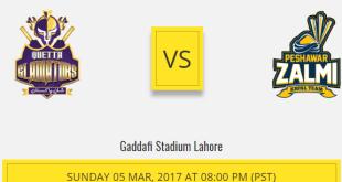 PSL Lahore Final Live 2017 Pakistan Super League