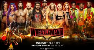 WWE Wrestlemania 35 Matches Results Winners List