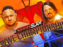AJ Styles Vs Samoa Joe Summerslam 2018 In India, Repeat Telecast, Date, Time