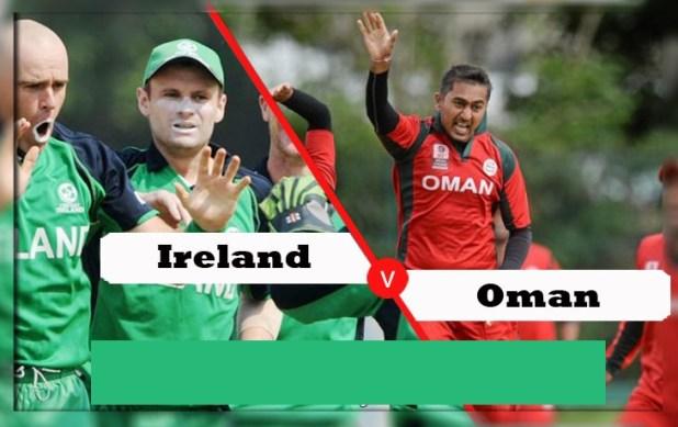 Oman vs Ireland 1st T20 Live Scorecard Results Oman Quadrangular T20 Series 2019