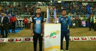 Bangladesh Premier League BPL 2019 Final Match Scorecard Result