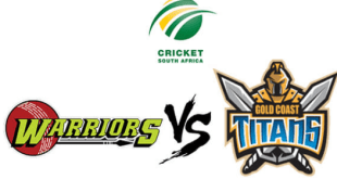 CSA Titans Vs Warriors Live Score 2019 Results Prediction