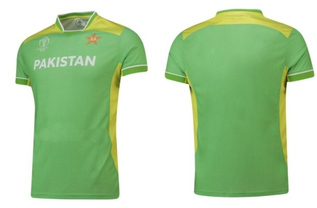 Pakistan Cricket Team New Kit for World Cup 2019 Front Back
