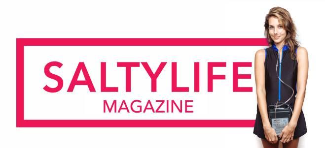 SaltyLife Magazine Banner