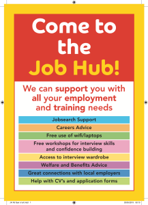 Come to the Job Hub!