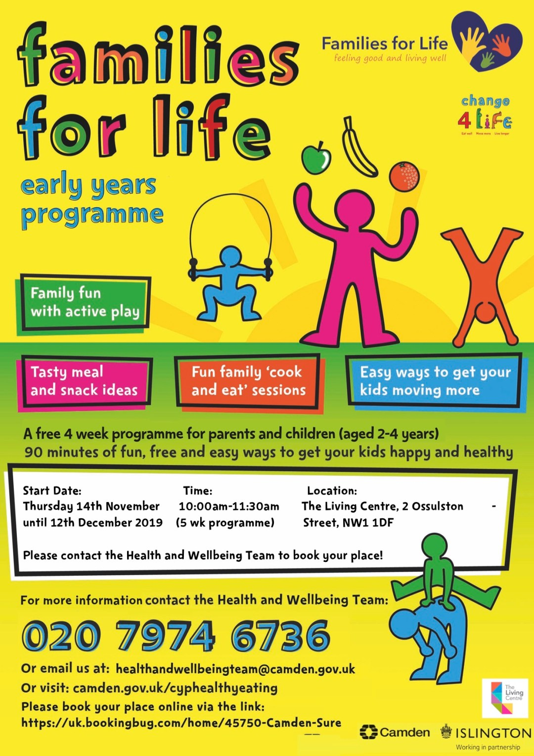 Families for Life: Early Years Programme