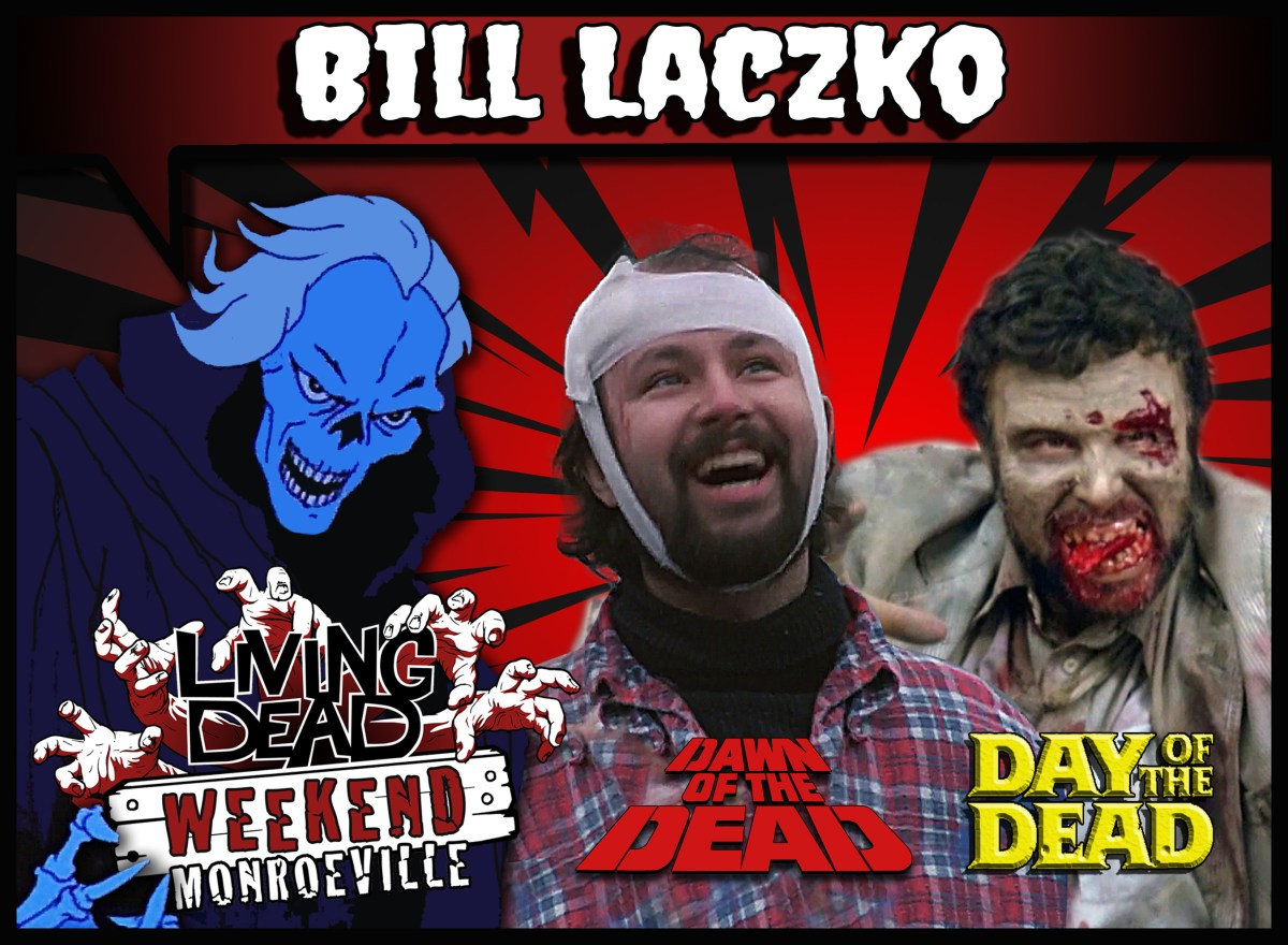 Bill Laczko Living Dead Weekend Guest June 14 -16 Monroeville Mall Pittsburgh Dawn of the Dead Redneck Day of the Dead Zombie