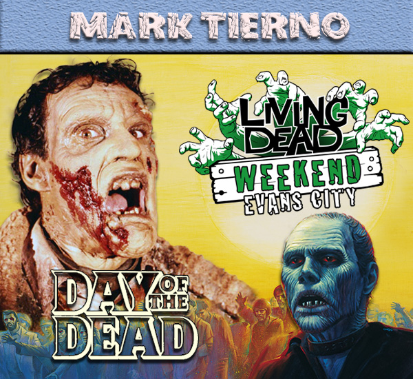 Mark Tierno Day of the Dead October Living Dead Weekend George Romero Zombie Festival Event Weekend of the Dead