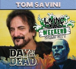Tom Savini Day Dawn of the dead night of the living dead weekend horror sfx master