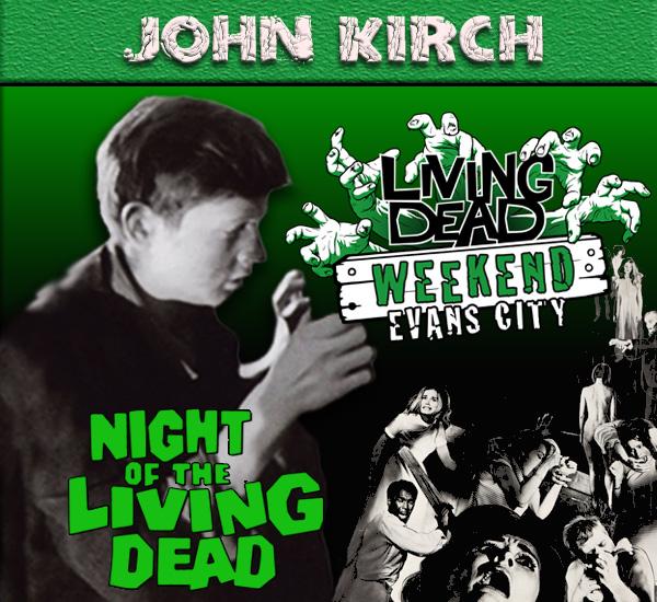 John Kirch at Living Dead Weekend 2017