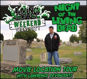 Night of the Living Dead October Living Dead Weekend George Romero Zombie Festival Event Weekend of the Dead
