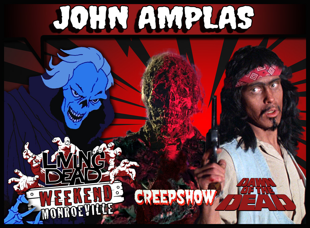 John Amplas Dawn of the Dead and Creepshow |Reunion at the Living Dead Weekend in Monroeville PA - Pittsburgh Zombie Convention