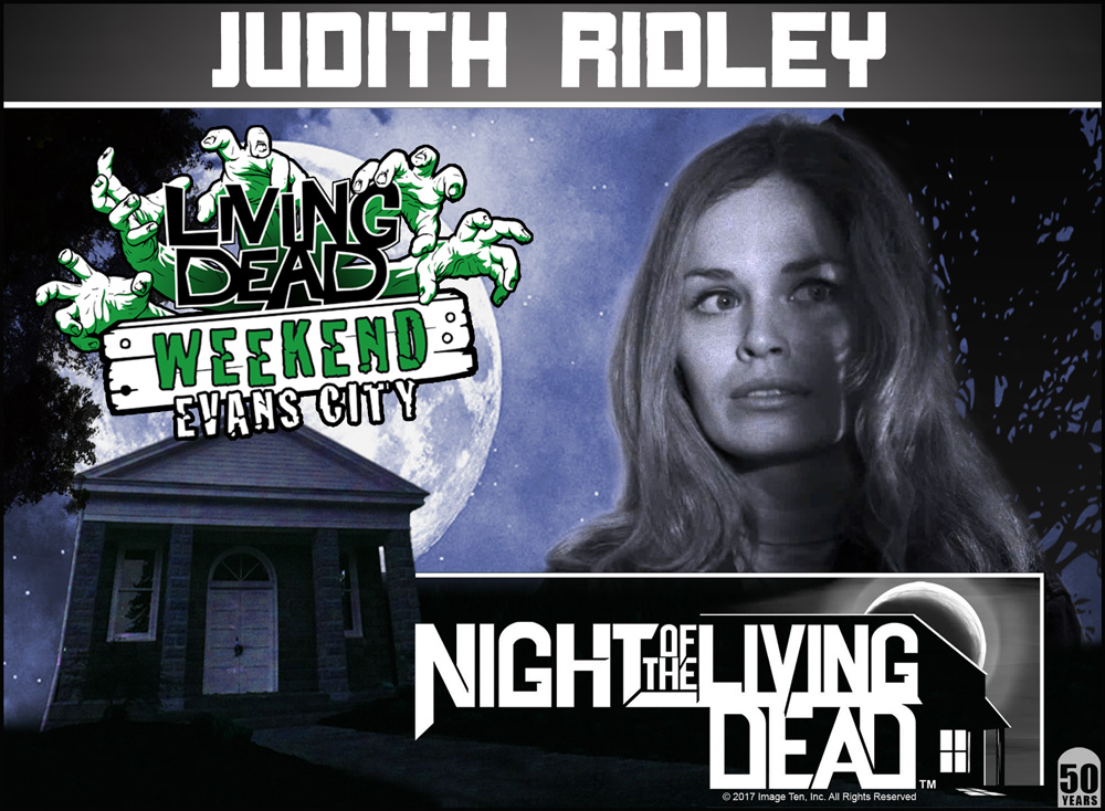 Judith Ridley Night Of The Living Dead 50th Anniversary Living Dead Weekend October 2018