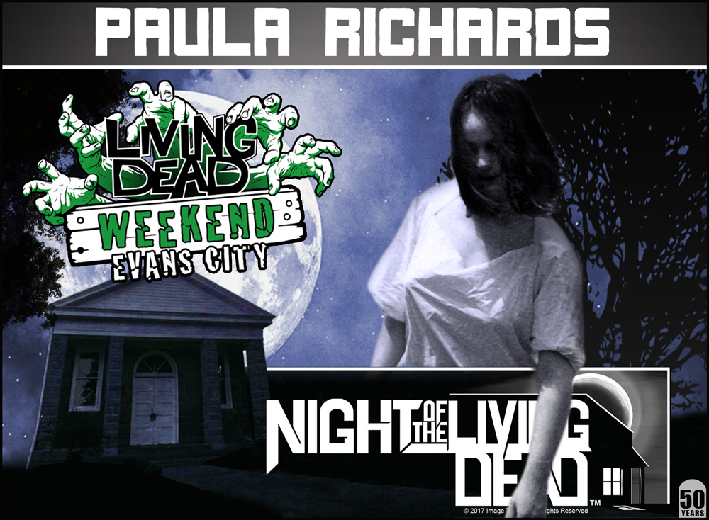 Paula Richards Night Of The Living Dead 50th Anniversary Living Dead Weekend October 2018