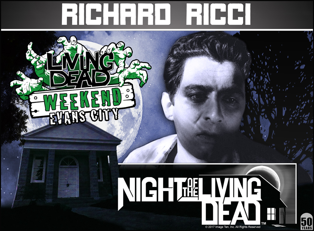 Living Dead Weekend Night of the Living Dead 50th Anniversary Romero ZOMBIE Convention