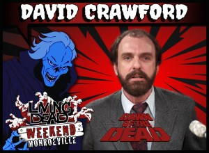 David Crawford WGON TV Pittsburgh Dr Foster in George Romero Dawn of the Dead Zombie Horror TV scientist Living Dead Weekend
