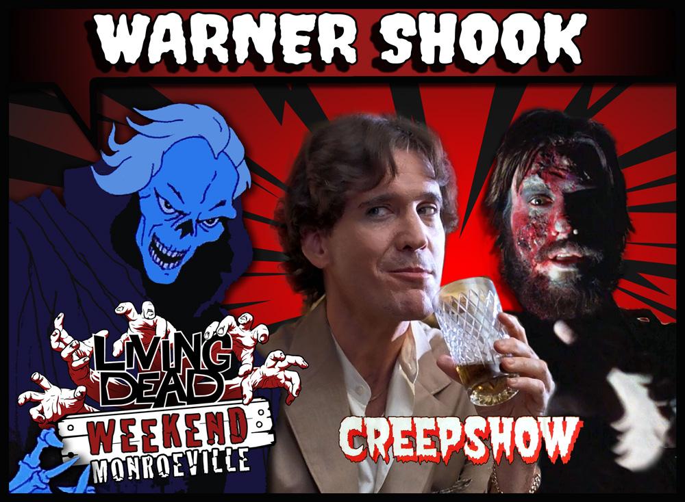 Warner Shook Dawn of the Dead Creepshow at Living Dead Weekend George Romero Boiler Room Zombie Horror Monroeville Mall