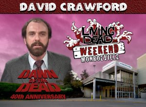 Living Dead Weekend Monroeville Mall June 8-10 2018 David Crawford George Romero Dawn of the Dead Zombie