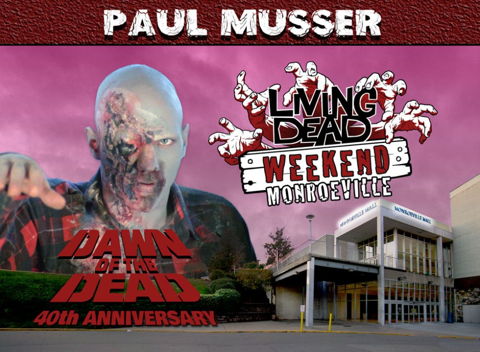 Living Dead Weekend Monroeville Mall June-8-10 2018 Paul Musser George Romero Dawn of the Dead Zombie
