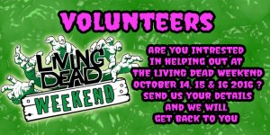 Living Dead Weekend 2016 volunteers