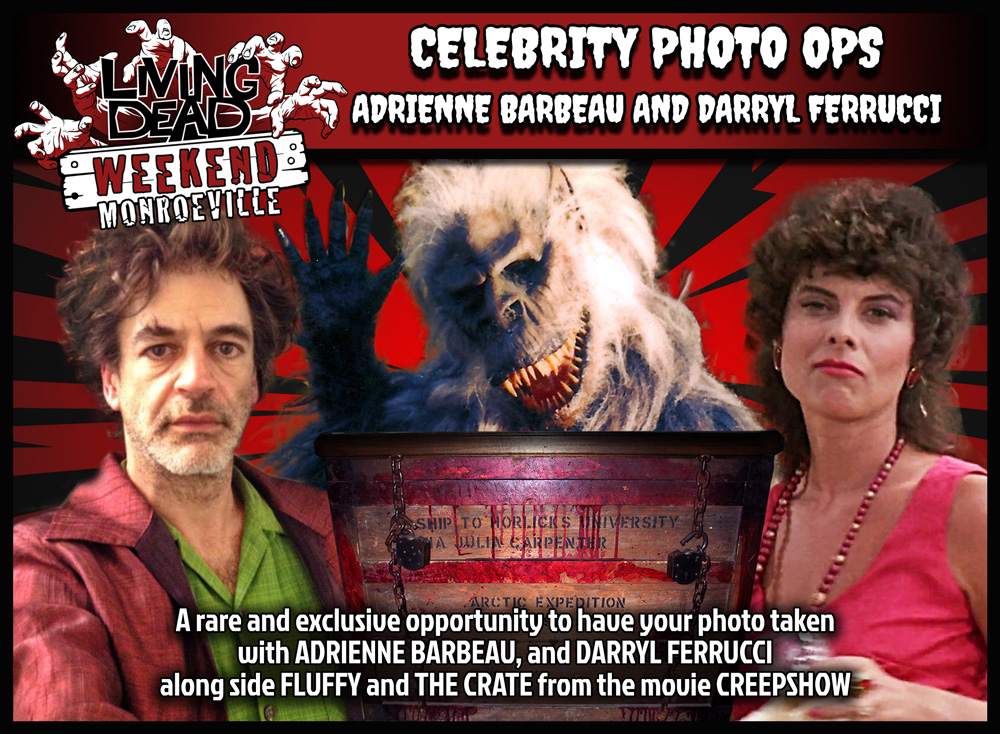 CREEPSHOW FLUFFY CRATE ADRIENNE BARBEAU AND DARRYL FERRUCCI