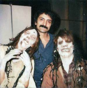 Gaylen Ross and Ted Dansen star in Creepshow as Zombies - make-up by SFX Artist Tom Savini