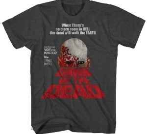 DAWN OF THE DEAD Movie Poster Teaser and Logo Exclusive T-Shirt
