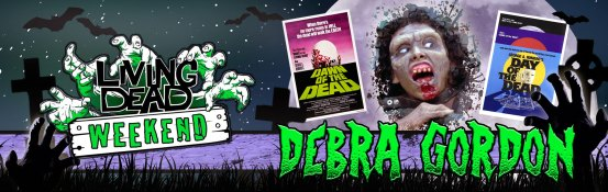 Debra Gordon will be a guest at the Living Dead Weekend 2016