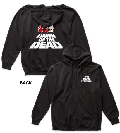 Official DAWN OF THE DEAD 40th Anniversary Exclusive Hoodie