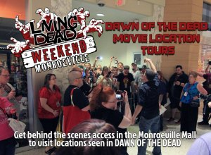 Living Dead Weekend Dawn of the Dead Monroeville Mall tour