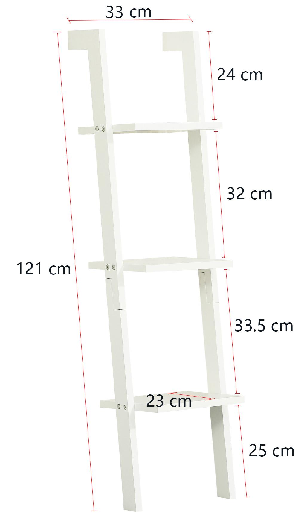 Orolay Modern Wall Ladder Shelf Storage Display Shelving