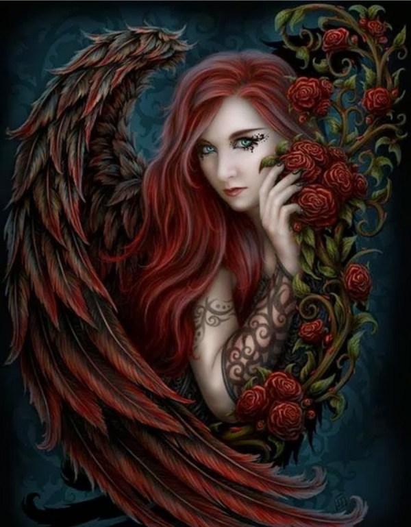 Anne Stokes Gothic Angel Art